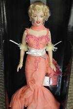 Franklin Mint Marilyn Vinyl Doll Platinum Premier Peach Silk Gown LE/750 SALE!!