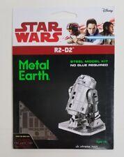 Fascinations Metal Earth Star Wars R2-D2 Steel Laser Cut 3D Model Kits Disney