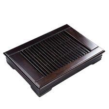 "QiFeng Ebony Wood Gongfu Tea Table Serving Tray 13.4""x9.25"""