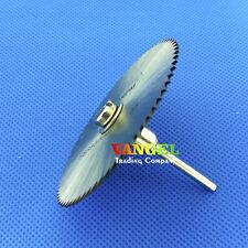 VANGEL--3PCS 50mm Saw blade shank 3.2 dremel cutting disc Circular Wood Cutters