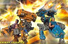 Salamander, small fire support tactical walker set of 2 Tehnolog Robogear Cybero