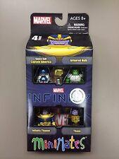Marvel Minimates INFINITY TRU Box set Armored Hulk Thanos Thane Avengers