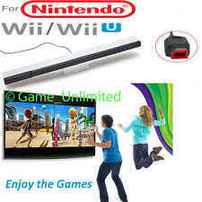 New Wired Remote Motion Sensor Bar IR Infrared Ray Inductor for Nintendo Wii / U