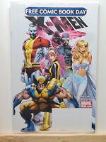 X-Men Free Comic Book Day  Wolverine Cyclops Marvel Comics CB3441