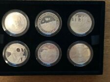 More details for boxed 2017 uk £5 silver proof six coin set 100th anniversary of wwi