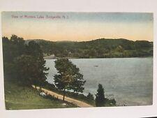 Postcard Mountain Lake Bridgeville New Jersey NJ Montain Funny Message A3