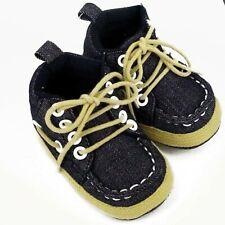 Pram Shoes , Newborn Baby Boy Infant Boat Shoes Toddler PreWalker Trainers 0-12