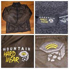 Mountain Hardwear Women's Brown Puffer Down Parka Ski Jacket Size Medium