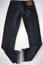 Unbranded Selvedge 14.5 oz UB201 Tapered Denim Jeans Indigo Sz 29 X 32