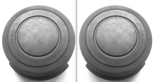 ONE pair DELSEY club REPLACEMENT spare SUITCASE wheel USED part 67-26cm