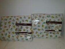Jcpenney Christine Floral Multi Muslin Permanent Press Twin Flat & Fitted Sheet