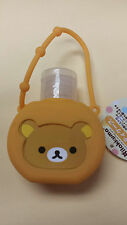 Sanrio San-X Rilakkuma Pocketbac Antibacterial Shampoo Lotion Container Orange