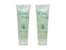 Aloe Vera Gel 100% Feuchtigkeitspflege Cosmonatura Gesicht Körper 2x250 ml