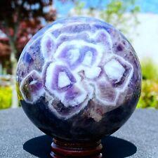825G Natural Dream amethyst Crystal Ball healing Hot sale Collectibles