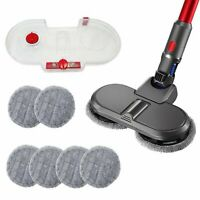 Wet Dry Mop Electric Head w/Water Tank For Dyson V7 V8 V10 V11 Vacuum Cleaner