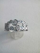 Anello donna Cuore argento 925 ,zirconi bianchi Mis 16 idea regalo San Valentino