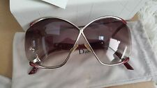 $440 CHRISTIAN DIOR LADIES METAL BUTTERFLY SUNGLASSES RARE AUTHENTIC