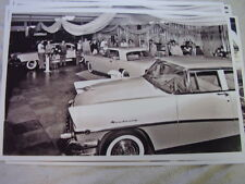 1956 MERCURY LINCOLN AN MARK AUTO SHOW DISPLAY  11 X 17  PHOTO  PICTURE