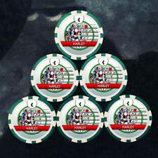 Custom Harley Bystander Tokens (x6) - For Use With Harley Quinn 049 - Heroclix