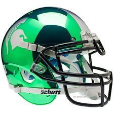MICHIGAN STATE SPARTANS CHROME SCHUTT XP AUTHENTIC FOOTBALL HELMET