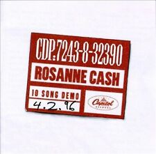 ROSANNE CASH ~ 10 SONG DEMO ~ CD 1996 CAPITOL