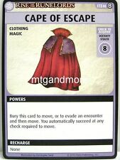 Pathfinder Adventure Card Game - 1x Cape of Escape - Rise of the Runelords