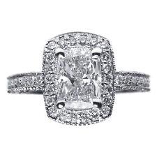 Engagement Ring F If 1.94 Carat Cushion Cut Diamond