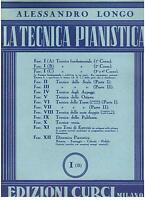 Alessandro Longo : die Technik Klavier I (B) - Curci