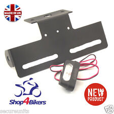 Universal Tail Tidy NUMBER PLATE HOLDER rsend tailtidy CON LUCE LED TT2