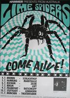 "LIME SPIDERS TOUR POSTER / KONZERTPLAKAT ""COME ALIVE VOLATILE TOUR"""