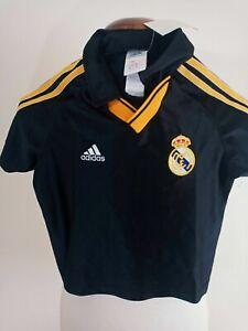 Real Madrid Football Away Shirt 1999-2000 (Boys) Adidas Camiseta Jersey Trikot