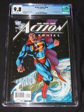 "Action Comics #840 (2006) Dodson Cover ""Up, Up & Away"" CGC 9.8 DC Superman EH273"