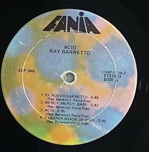 "Ray Barretto ""Acid"" Latin Funk Soul Boogaloo LP Fania"