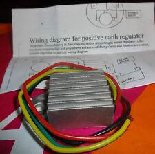 BSA Gold Star/B31/A7/A10... 6 V Negativo Tierra Dynamo regulador de caja.