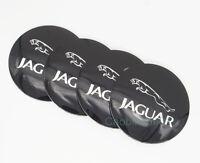 4Pcs 56.5mm Rad Autocenter Kappen Abdeckungen Embleme Aufkleber für Jaguar