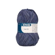 Patons Fab DK Yarn 100g Double Knitting Machine Washable 100% Acrylic Wool