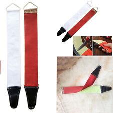 Canvas Leather Sharpening Strop Barber Open Straight Razor Sharpening Shave Kit