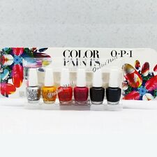 O.P.I Mini COLOR PAINTS OPI Nail Lacquer Kit Set 6 x3.75ml Collection 2015 DDP15
