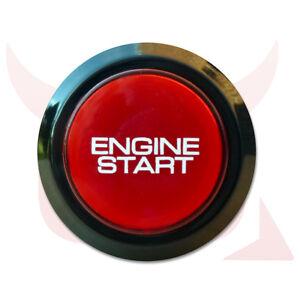 Car Engine Push Start Starter button for all cars 2005 onwards 12V illuminated