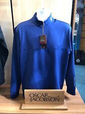 Oscar Jacobson Liner pin Waist Coat Navy
