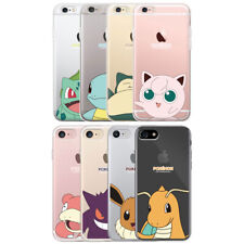 POKEMON Clear Phone Case for iPhone 11/Pro/Max/XS/XR/Galaxy S10/S10+/Note10/10+