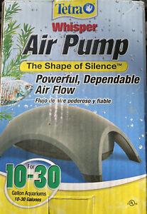 Tetra Whisper Air Pump for 10-30 Gallon Aquariums