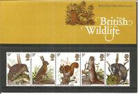 British Wildlife 1977 British Post Office Mint Stamps Presentation Pack U2206