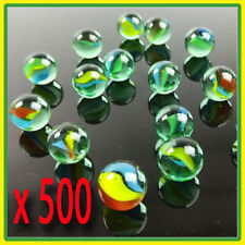 500 glass playing marbles .bulk round marbles , toy , lot , classic play, cats