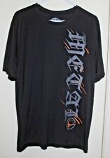 Metal Mulisha Trainer Tech-gnar polyester T-shirt Black (Mens size Large) lot of