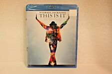 "Michael Jackson:"" This Is It"" (Blu-Ray) Factory Sealed"