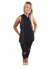 NEXT Sleeveless Tops & Shirts for Women with Buttons