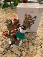Hallmark Christmas Ornament, Hickory Tree Harmony, Light/Sound/Motion, 2011