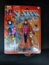 """Marvel Legends X-Men Retro Gambit Vintage Collection 6"""" Figure In Hand Hasbro"""