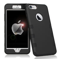 Heavy Duty Shockproof Hybrid Armor Hard Case For iphone 7 8 Plus Defender Cover